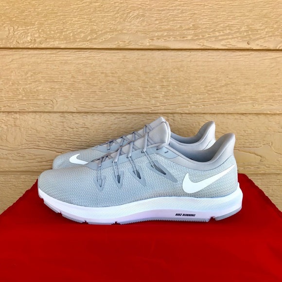Nike Quest Wolf Grey White Mens Running